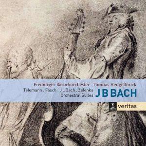 Bach (Johann Bernhard), Telemann, Zelenka - Orchestral Suites (2CD) [ CD ]