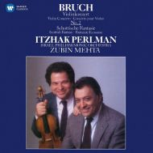 Itzhak Perlman - Bruch - Scottish Fantasy, Violin Concerto No.2 [ CD ]