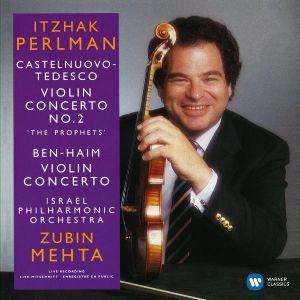 Itzhak Perlman - Castelnuovo-Tedesco & Bel-Haim - Violin Concerto [ CD ]