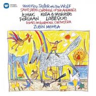 Itzhak Perlman - Saint-Saens, Prokofiev - Carnaval Of The Animals, Peter And The Wolf.. [ CD ]