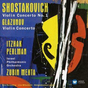 Itzhak Perlman - Schostakovich & Glazunov - Violin Concerto [ CD ]