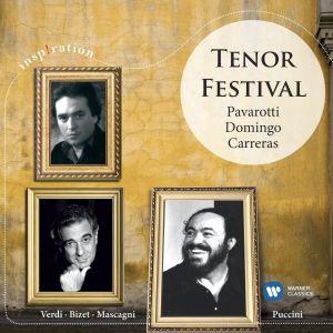 Pavarotti, Domingo, Carreras - Tenor Festival - Verdi, Bizet, Mascagni [ CD ]