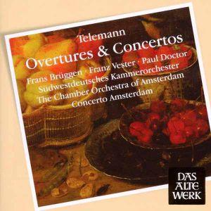 Telemann, G. P. - Overtures & Concertos [ CD ]