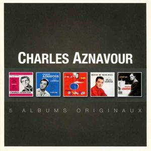 Charles Aznavour - Original Album Series (5CD) [ CD ]