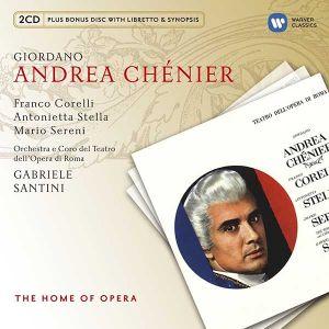 Giordano, U. - Andrea Chenier (3CD) [ CD ]