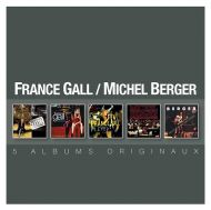France Gall & Michel Berger - Original Album Series (5CD) [ CD ]
