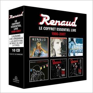 Renaud - Le Coffret Essentiel Live 1986-2007 (10CD Box Set) [ CD ]