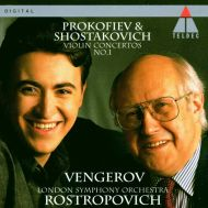 Maxim Vengerov - Prokofiev & Shostakovich Violin Concertos No.1 [ CD ]