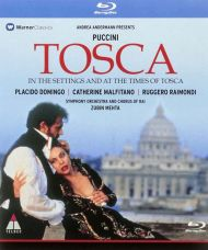 """Puccini, G. - Tosca (Live opera film """"In The Settings And The Time Of Tosca) (Blu-Ray) [ BLU-RAY ]"""