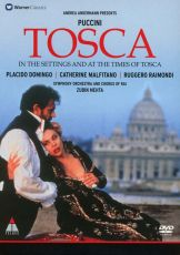 """Puccini, G. - Tosca (Live opera film """"In The Settings And The Time Of Tosca"""") (DVD-Video) [ DVD ]"""