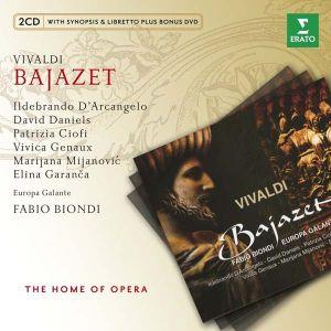 Vivaldi, A. - Bajazet (2CD with DVD) [ CD ]