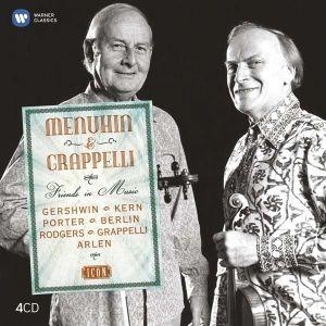 Yehudi Menuhin & Stephane Grappelli - Icon: Friends In Music (4CD Box Set) [ CD ]