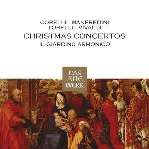 Corelli, Manfredini, Torelli, Vivaldi - Christmas Concertos [ CD ]