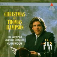 Thomas Hampson - Christmas with Thomas Hampson - International Christmas Carols [ CD ]