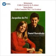 Schumann, R. & Saint-Saens, C. - Cello Concerto & Cello Concerto No.1 [ CD ]