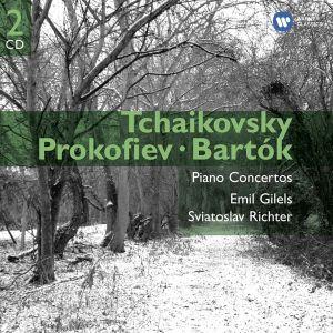 Tchaikovsky, Prokofiev, Bartok - Piano Concertos (2CD) [ CD ]