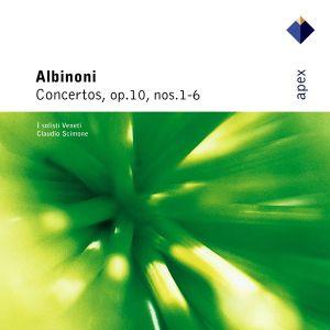 Albinoni, T. - Concertos, Op.10, No.1-6 [ CD ]