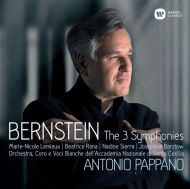 Bernstein, L. - Symphony No.1 'Jeremiah', No.2 'The Age Of Anxiety', No.3 'Kaddish', Prelude, Fugue & Riffs (Casebound Deluxe) (2CD) [ CD ]