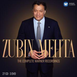 Zubin Mehta - The Complete Warner Recordings (27CD with 3DVD-Video) [ CD ]