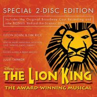 The Lion King: Original Broadway Cast Recording - Various (CD with DVD) [ CD ]