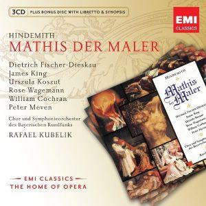 Hindemith, P. - Mathis Der Maler (4CD) [ CD ]