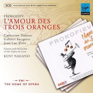 Prokofiev, S. - L'Amour Des Trois Oranges (3CD) [ CD ]