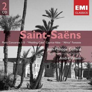 Saint-Saens, C. - Piano Concertos 1-5 (2CD) [ CD ]