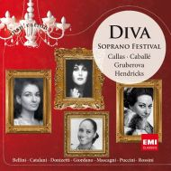 Diva: Soprano Festival - Callas, Caballe, Hendricks.. - Various Artists [ CD ]
