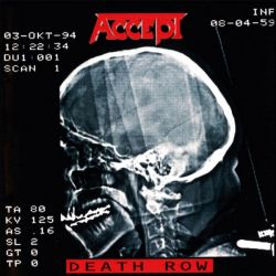 Accept - Death Row [ CD ]