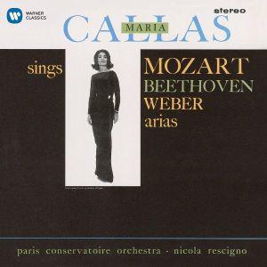 Maria Callas - Callas Sings Mozart, Beethoven, Weber Arias [ CD ]