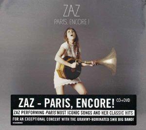 Zaz - Paris, encore ! (Live At Stuttgart Jazz Open 2015) (CD with DVD) [ CD ]