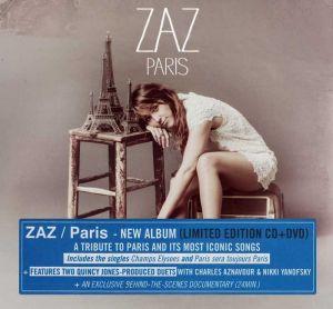 Zaz - Paris (CD with DVD) [ CD ]