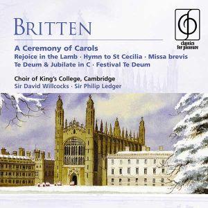 Britten, B. - A Ceremony Of Carols [ CD ]