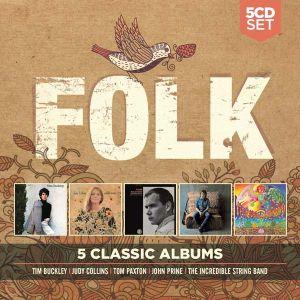 Folk - 5 Classic Albums - Various Artists (5CD) [ CD ]