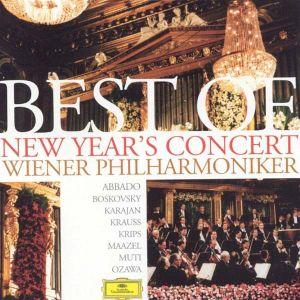 Best of New Year's Concert - Wiener Philharmoniker, Herbert von Karajan, Lorin Maazel, Claudio Abbado (2CD) [ CD ]
