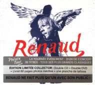 Renaud - Phoenix Tour (2CD with 2DVD-Video) [ CD ]