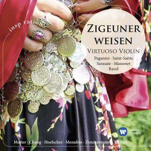 Paganini, Saint-Saens, Sarasate, Massenet, Ravel - Zigeuner Weisen - Virtuoso Violin [ CD ]