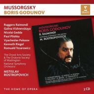 Mussorgsky, M. - Boris Godunov (3CD) [ CD ]