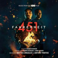 Matteo Zingales & Antony Partos - Fahrenheit 451 (Music From The HBO Film) [ CD ]
