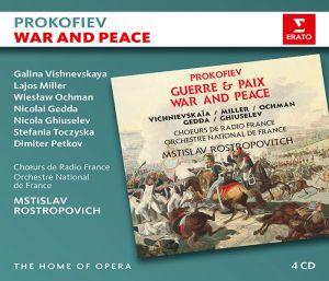 Prokofiev, S. - War And Peace (4CD) [ CD ]