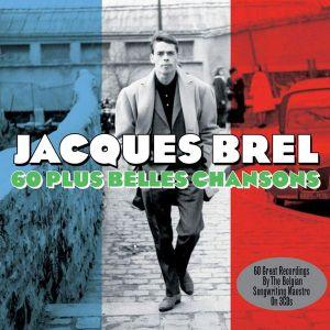 Jacques Brel - 60 Plus Belles Chansons (3CD) [ CD ]