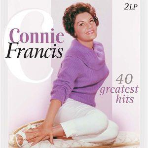 Connie Francis - Connie Francis 40 Greatest Hits (2 x Vinyl) [ LP ]