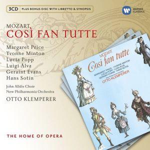 Mozart, W. A. - Cosi Fan Tutte (Otto Klemperer) (4CD) [ CD ]