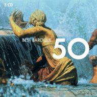 50 Best Baroque - Various Artists (3CD) [ CD ]