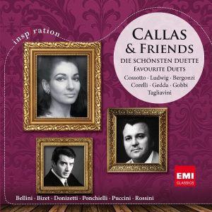 Maria Callas - Callas & Friends - Favorite Duets [ CD ]